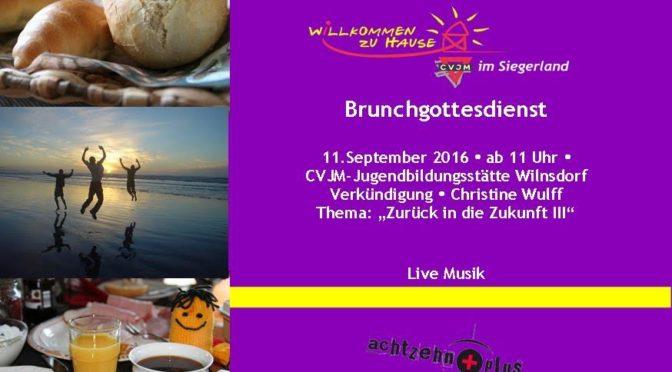 Brunchgodi am 11.09.2016 in der Jugendbildungsstätte Wilgersdorf