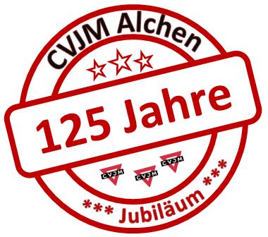 Logo 125 Jahre Jubiläum CVJM Alchen