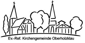 Zeichnung der Kirchen Oberholzklau und Alchen