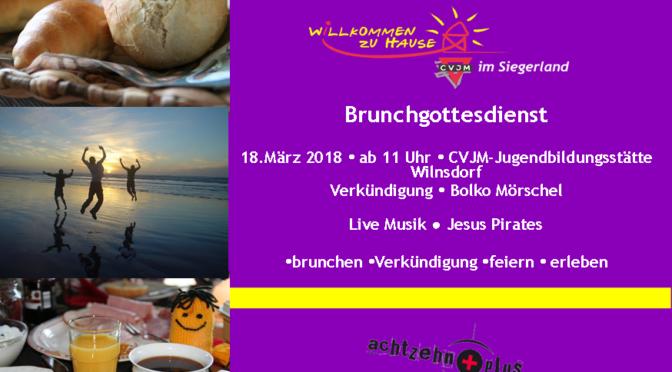 BrunchGodi 18.03.2018 in der Jubistätte Wilgersdorf