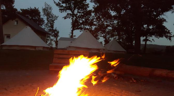Die Zelte stehen – Es kann losgehen…