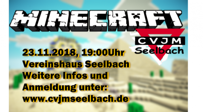 Minecraft-LAN -Party 2018 des CVJM Seelbach