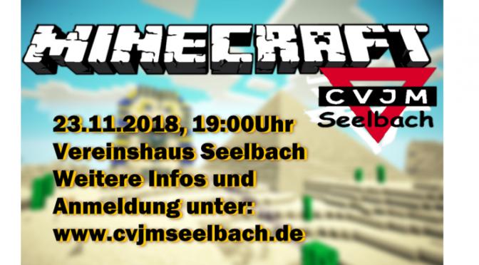Minecraft-LAN -Party 2018 des CVJM Seelbach