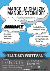 Blue sky Festival am Fischbacherberg in Siegen
