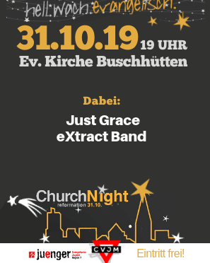 Church Night – hellwach evangelisch
