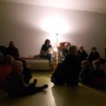 Eine Licht-geschichte beim Lebendigen Adventskalender