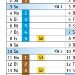 Ausschnitt vom Abfallkalender Januar 2021 Freudenberg
